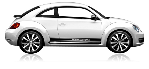 VW GTi 2006-2009 Door Strip